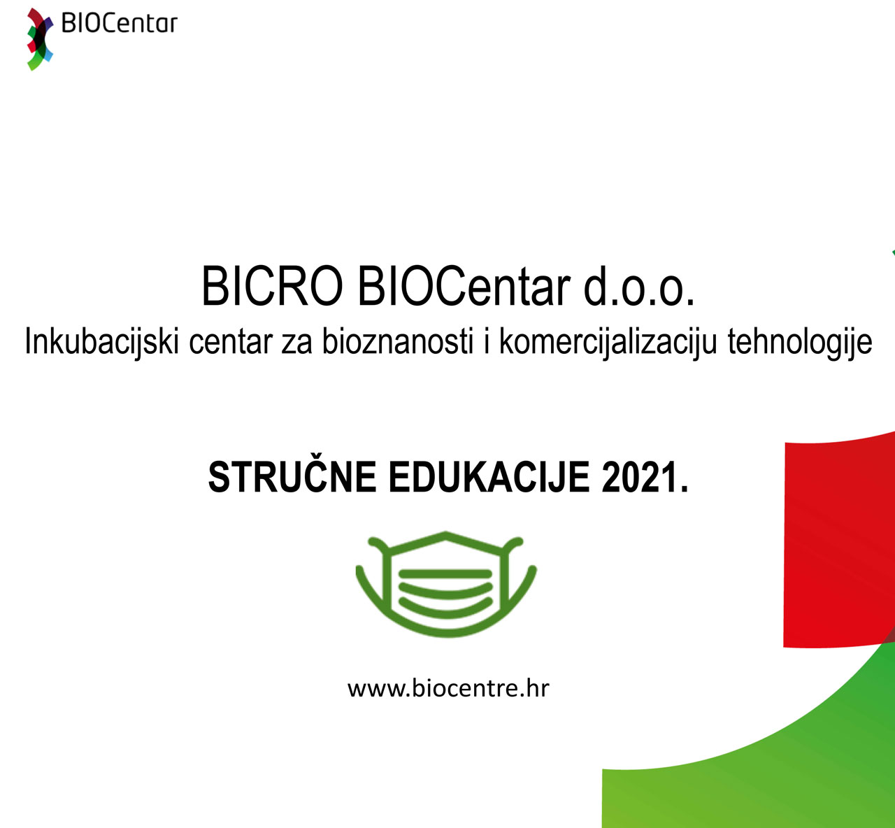 2021 BICRO BIOCentar Plan Edukacija 4